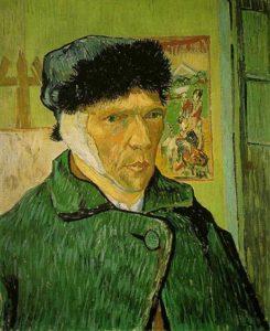 Self-Portrait with Bandaged Ear (1889)