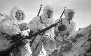 Soviet soldiers with Zaytsev
