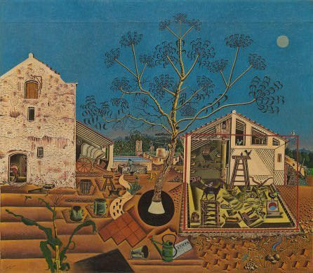 The Farm (1921-22) by Miro