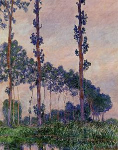 Three Trees in Grey Weather (1891)
