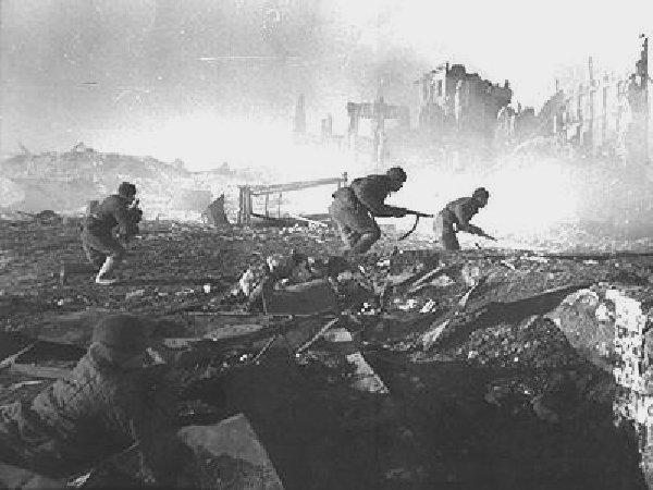 burning Stalingrad