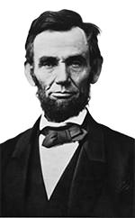 Abraham Lincoln photo portrait
