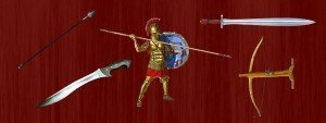 Ancient Greek Weapons Featured Image