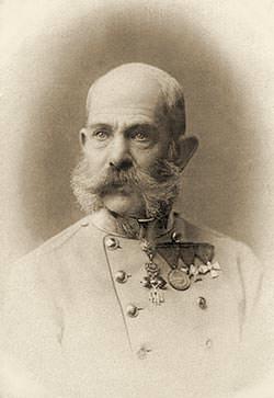Photo of Emperor Franz Joseph I