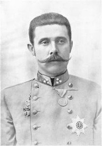 Franz Ferdinand in Uniform