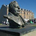 John Logie Baird Statue at Helensburgh