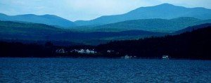 A photo of Lake Champlain