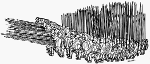 Macedonian phalanx formation