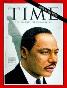 Martin Luther King on TIME Magazine