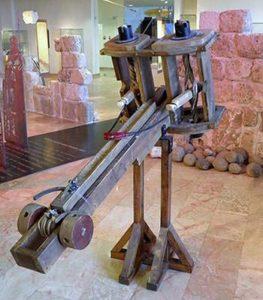Ballista - Greek projectile weapon