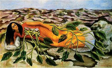 Roots (1943) by Frida Kahlo