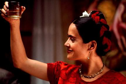 Salma Hayek as Kahlo in Frida