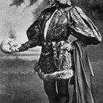 Sarah Bernhardt as Hamlet