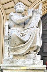 Statue of Homer in Munich