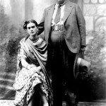 Wedding Photo of Diego Rivera and Frida Kahlo