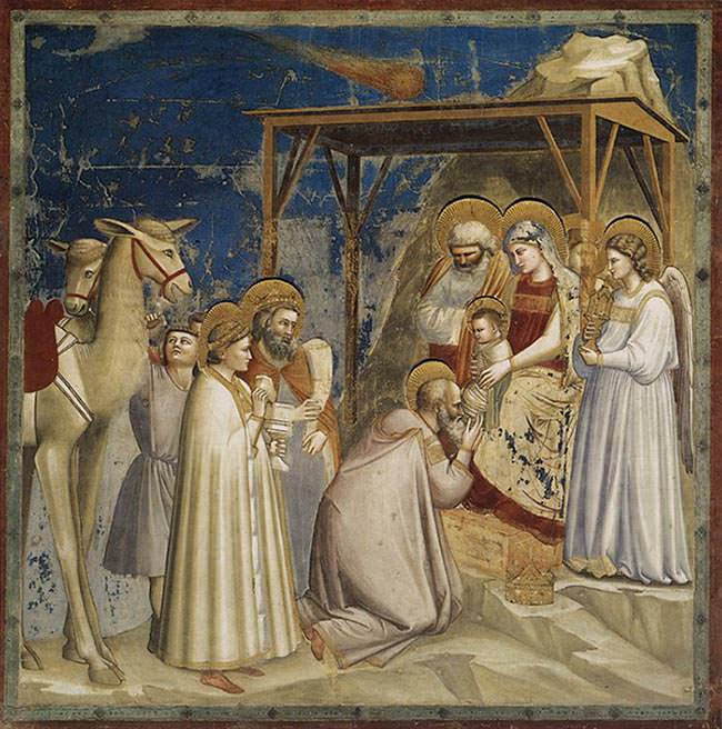 Adoration of the Magi (1306) - Giotto