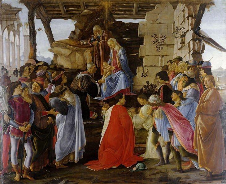 Adoration of the Magi (1306) - Giotto