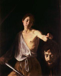 David with the Head of Goliath (1610) - Caravaggio