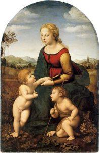 La belle jardiniere (1507) - Raphael