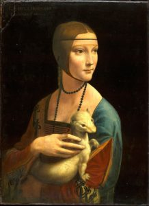 Lady with an Ermine (1490) - Leonardo Da Vinci
