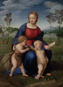 Madonna of the Goldfinch (1506) - Raphael