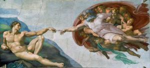 The Creation of Adam (1512) - Michelangelo