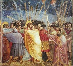 The Kiss of Judas (1306) - Giotto