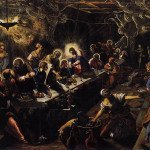 The Last Supper (1594) by Jacopo Tintoretto