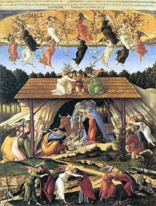 The Mystical Nativity (1501) - Botticelli