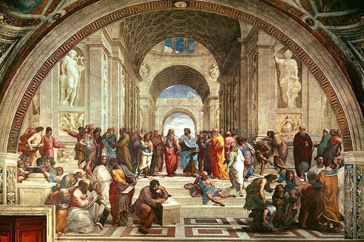 The School of Athens (1509) - Raphael