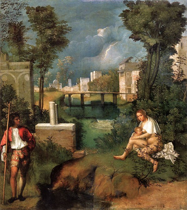 The Tempest (1508) - Giorgione
