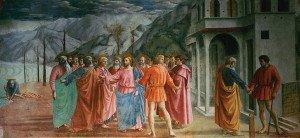 The Tribute Money (1425) - Masaccio