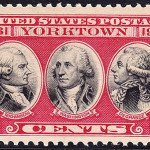 US Postage Stamp Yorktown Issue