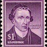 Patrick Henry 1955 Stamp