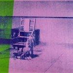 Big Electric Chair (1967) - Andy Warhol