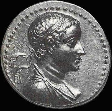 Coin depicting Ptolemy V Epiphanes