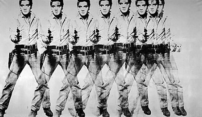 Eight Elvises (1963) - Andy Warhol