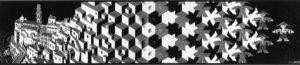 Metamorphosis I (1937) - M.C. Escher