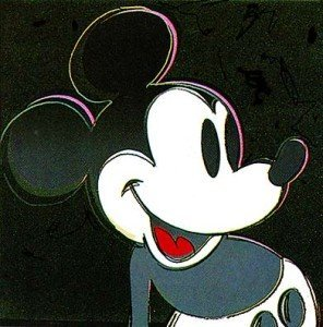 Mickey Mouse (1981) - Andy Warhol