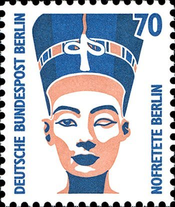 Nefertiti Stamp