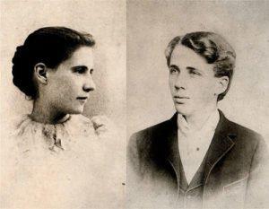 Elinor Miriam White and Robert Frost