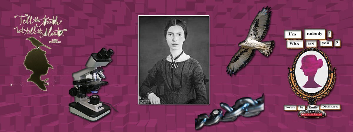 Emily Dickinson Famous Poems Featured