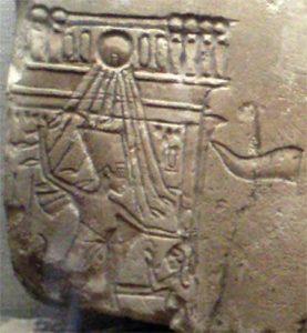 Nefertiti striking