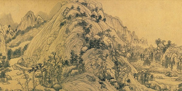 Dwelling in the Fuchun Mountains - Huang Gongwang