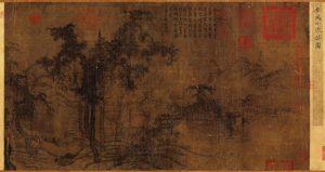 Small Wintry Grove - Li Cheng