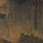 Travelers among Mountains and Streams - Fan Kuan