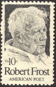 Robert Frost Stamp, 1974