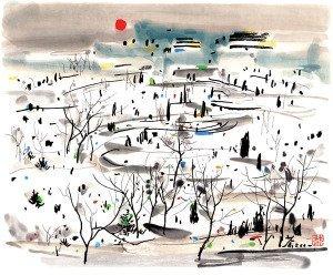 Winter Sun - Wu Guanzhong