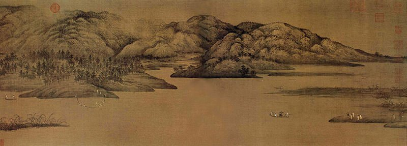 A Pure Conversation among Mountains and Rivers - Shen Zhou