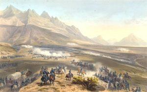 Battle of Buena Vista by Carl Nebel